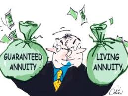 Living Annuity Compared to Guaranteed Annuity